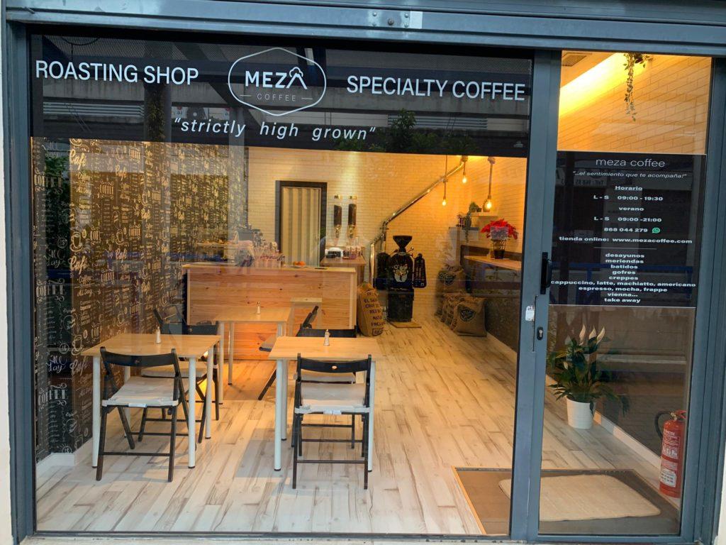 Meza Coffee Roaster Shop