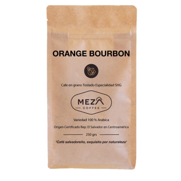 Orange Bourbon Meza Coffee
